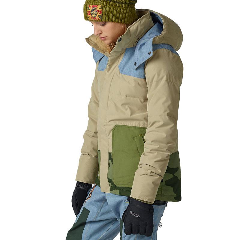 6cb6902d08 Burton Snowboard kabát LAMB BLITZ JK 16W153481 - 192 CMNT/CHMBRY/WDS/CAMO