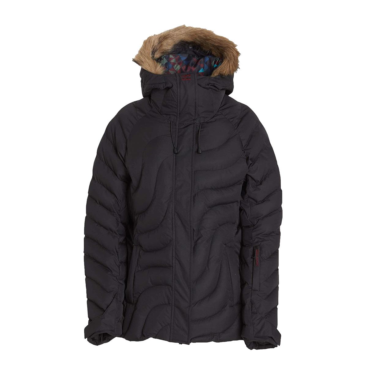 Billabong Snowboard kabát SOFFYA F6JF06 - 19 BLACK 33457e8c80