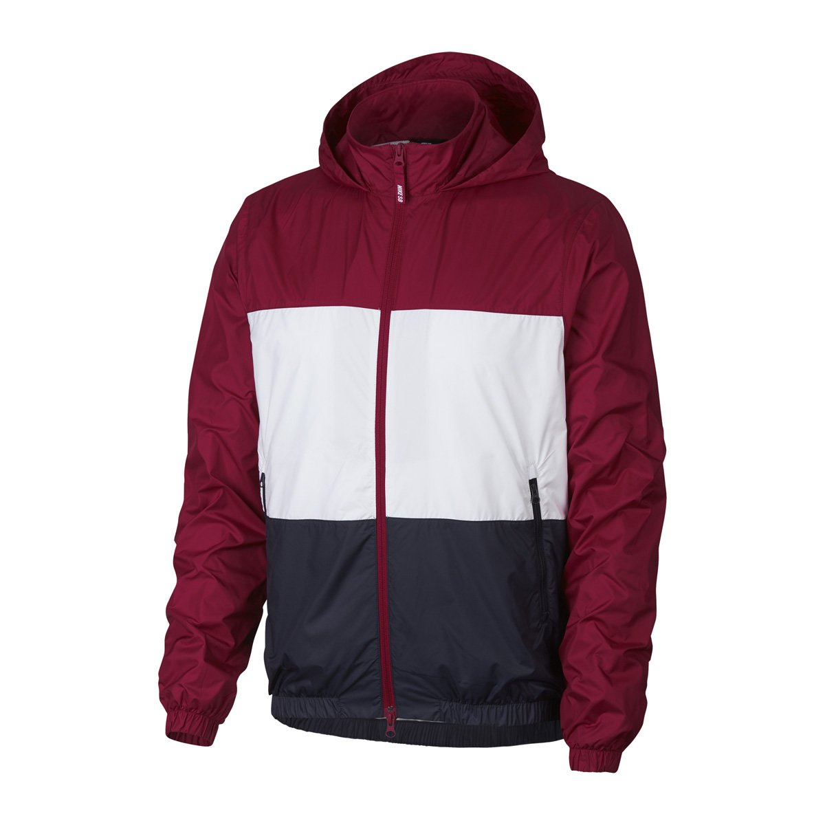 DRY JKT HOODED STRIPE