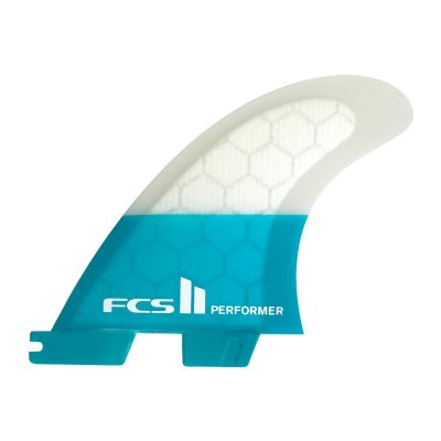 FCS II Performer PC Teal Large Tri  Fins