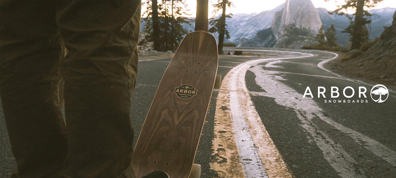 Arbor Snowboard Longboard Cruiser