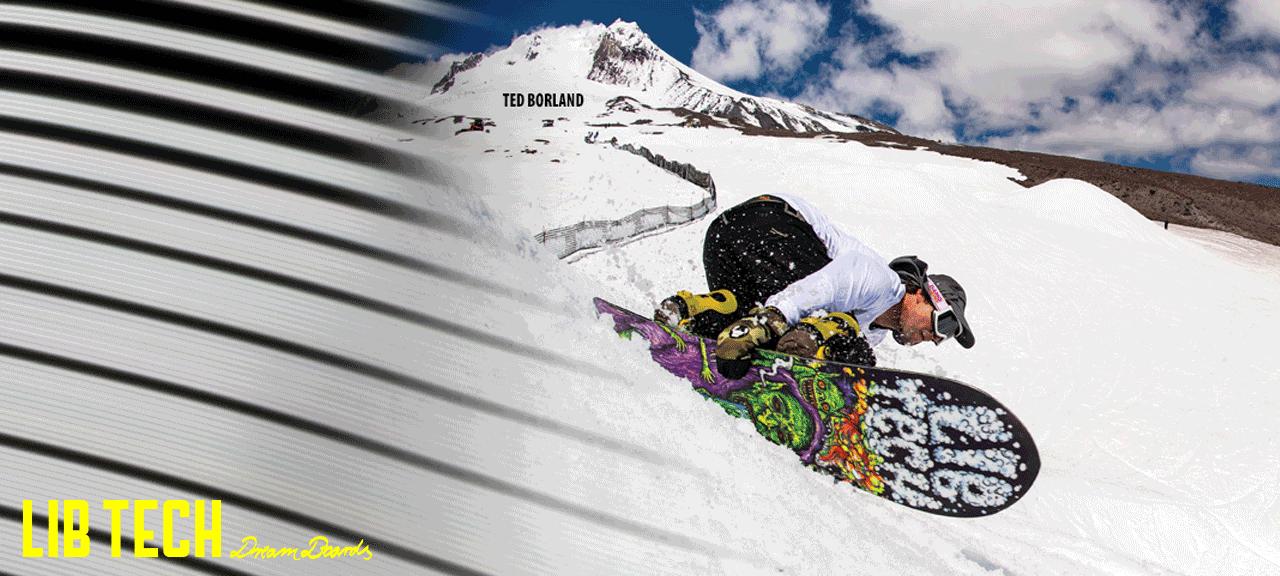 Lib Tech snowboard ésszörf deszkák