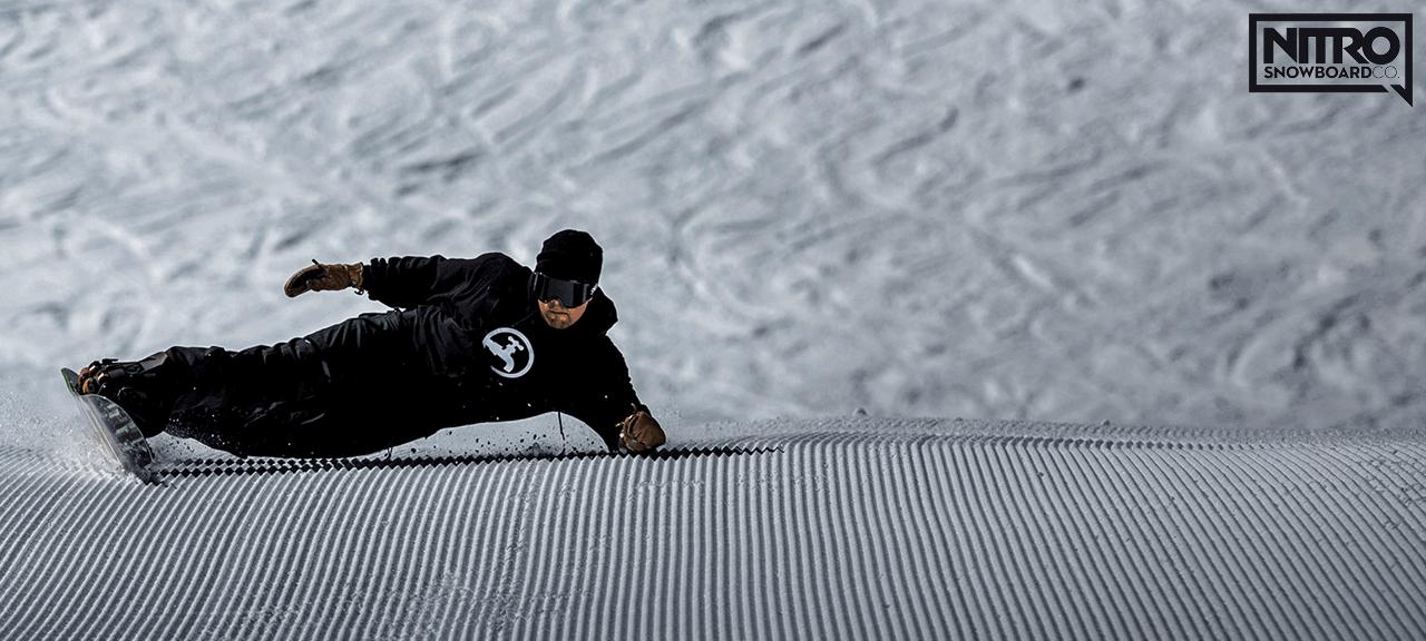 Nitro Snowboard Deszka Kötés Bakancs