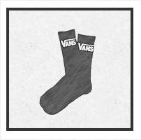 vans zokni