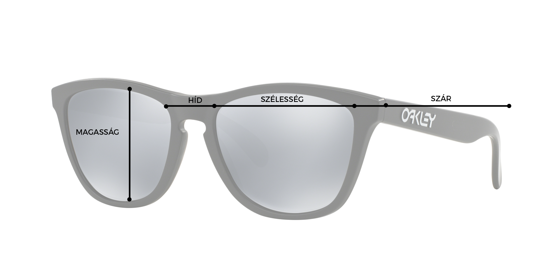 Oakley Napszemüveg Mérettáblázat
