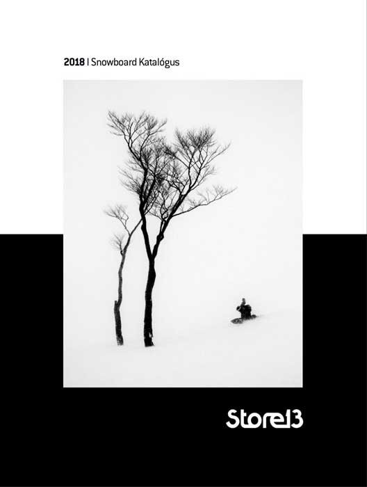Store 13 Snowboard katalógus 2017-18