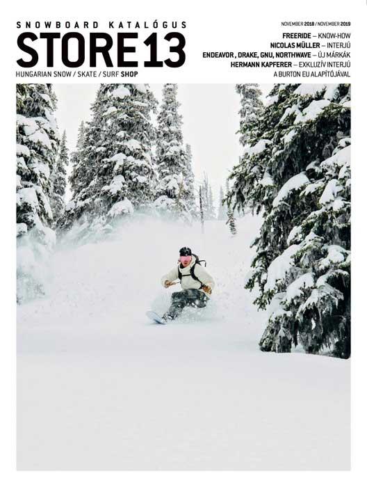 Store 13 Snowboard katalógus 2018-19
