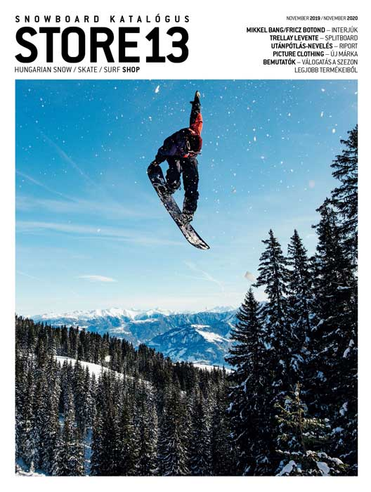 Store 13 Snowboard katalógus 2019-20